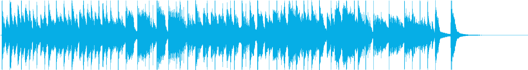 アンサンブルが魅力の30秒ジングルの再生済みの波形
