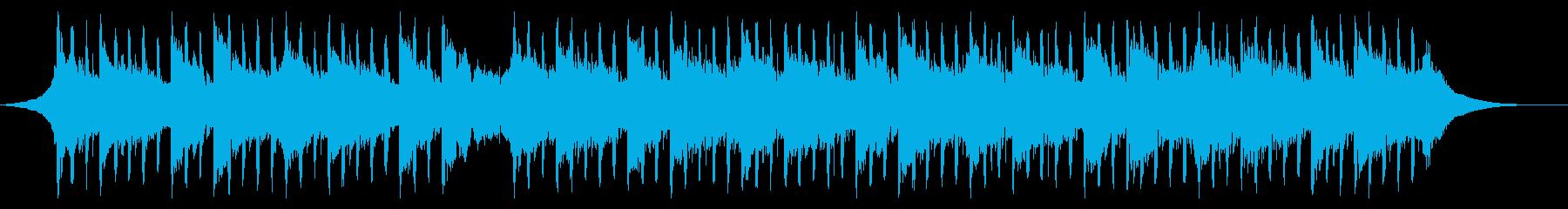 説明者向け(60秒)の再生済みの波形