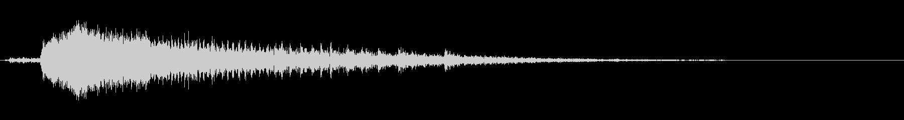 ギィーギギギギ(ドアの軋み音)Dの未再生の波形