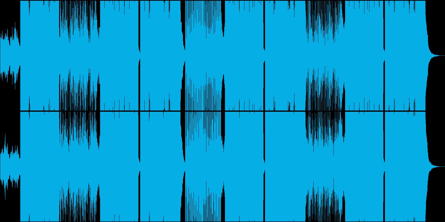 ポップでダンサブルなFuture Basの再生済みの波形