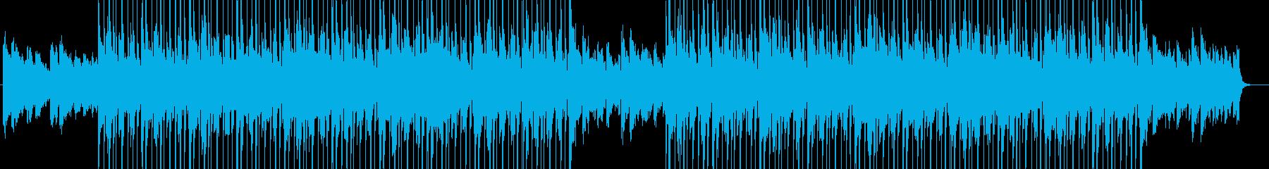 ノリが心地よいチルアウトの再生済みの波形