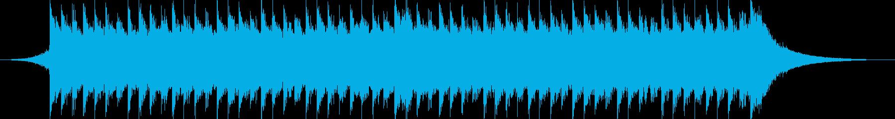 企業VP系55、爽やかピアノ&ギターcの再生済みの波形