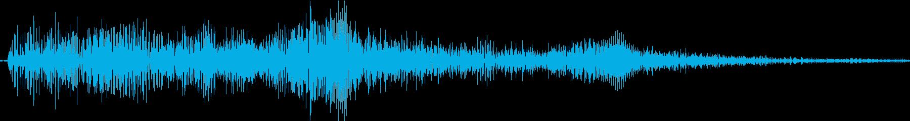 選択音 Slotイメージの再生済みの波形