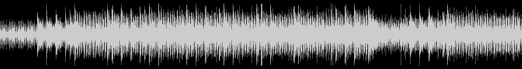 【ループ】独特なリズム、透明感がある曲の未再生の波形