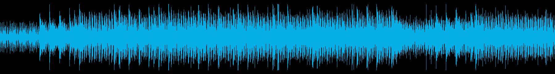 【ループ】独特なリズム、透明感がある曲の再生済みの波形