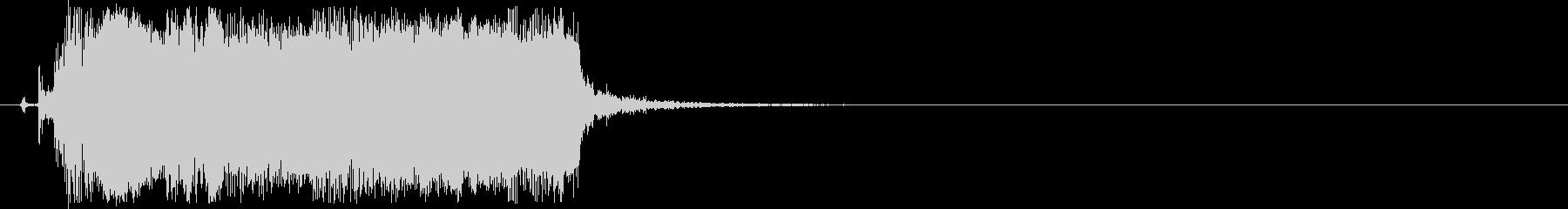 ギターフレーズ013の未再生の波形