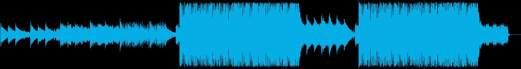 切ないテクスチャーの再生済みの波形