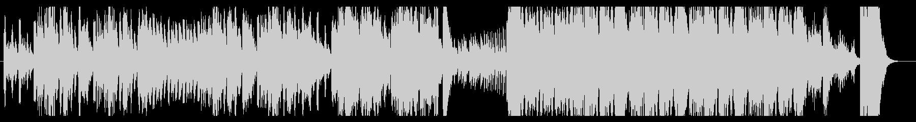 とぼけた雰囲気のあるオーケストラ曲の未再生の波形