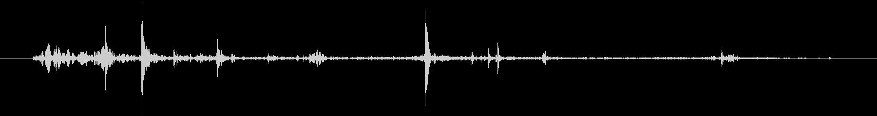 ソフトカバーブリーフケース:ピック...の未再生の波形
