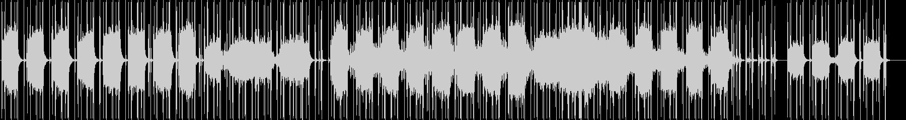空間を生かしたストリングスシンセ曲の未再生の波形