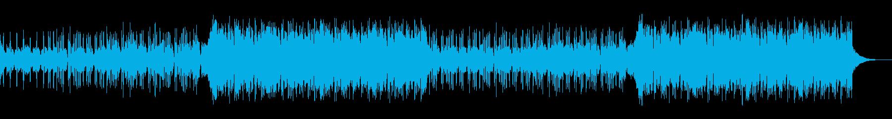 オープニング・洋楽エキサイティングロックの再生済みの波形