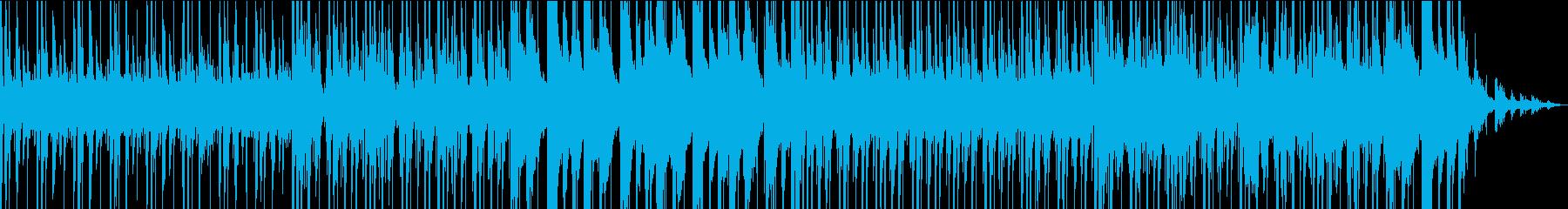 安定した催眠ドラムグルーヴを備えた...の再生済みの波形