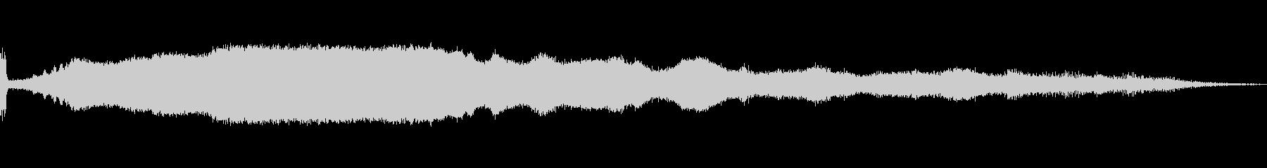 マシンソープレーナーウッドAの未再生の波形