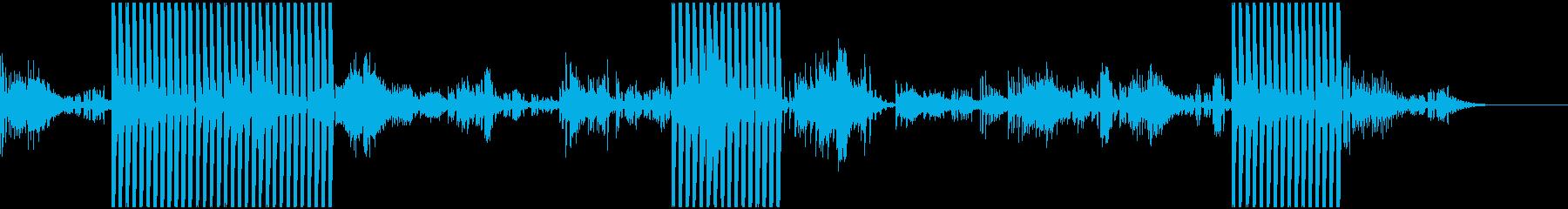 (静かシンプル)見えない力に導かれる様子の再生済みの波形