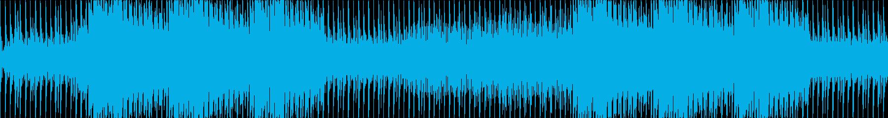 DarkでスローテンポなテクノLOOPの再生済みの波形