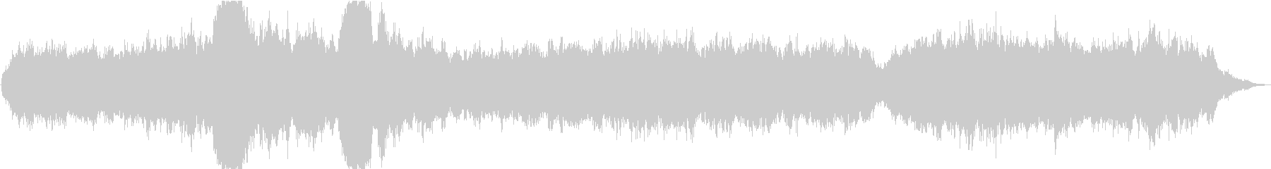 ドローン コンプレックスドローン01の未再生の波形