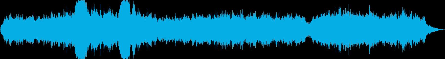 ドローン コンプレックスドローン01の再生済みの波形