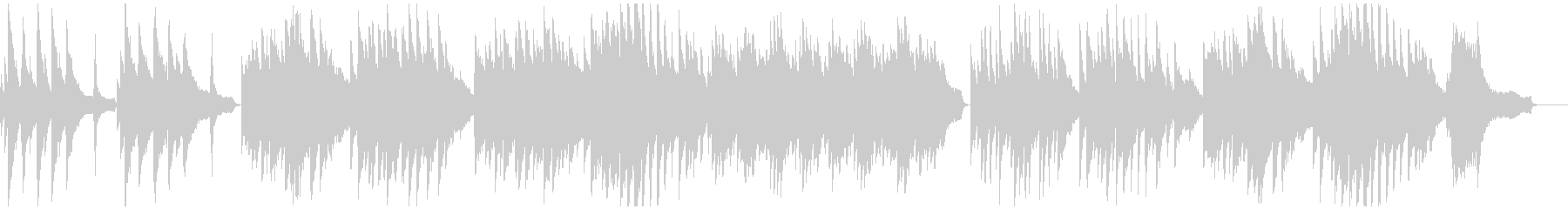 劇的ビフォーアフターのオマージュ・ピアノの未再生の波形