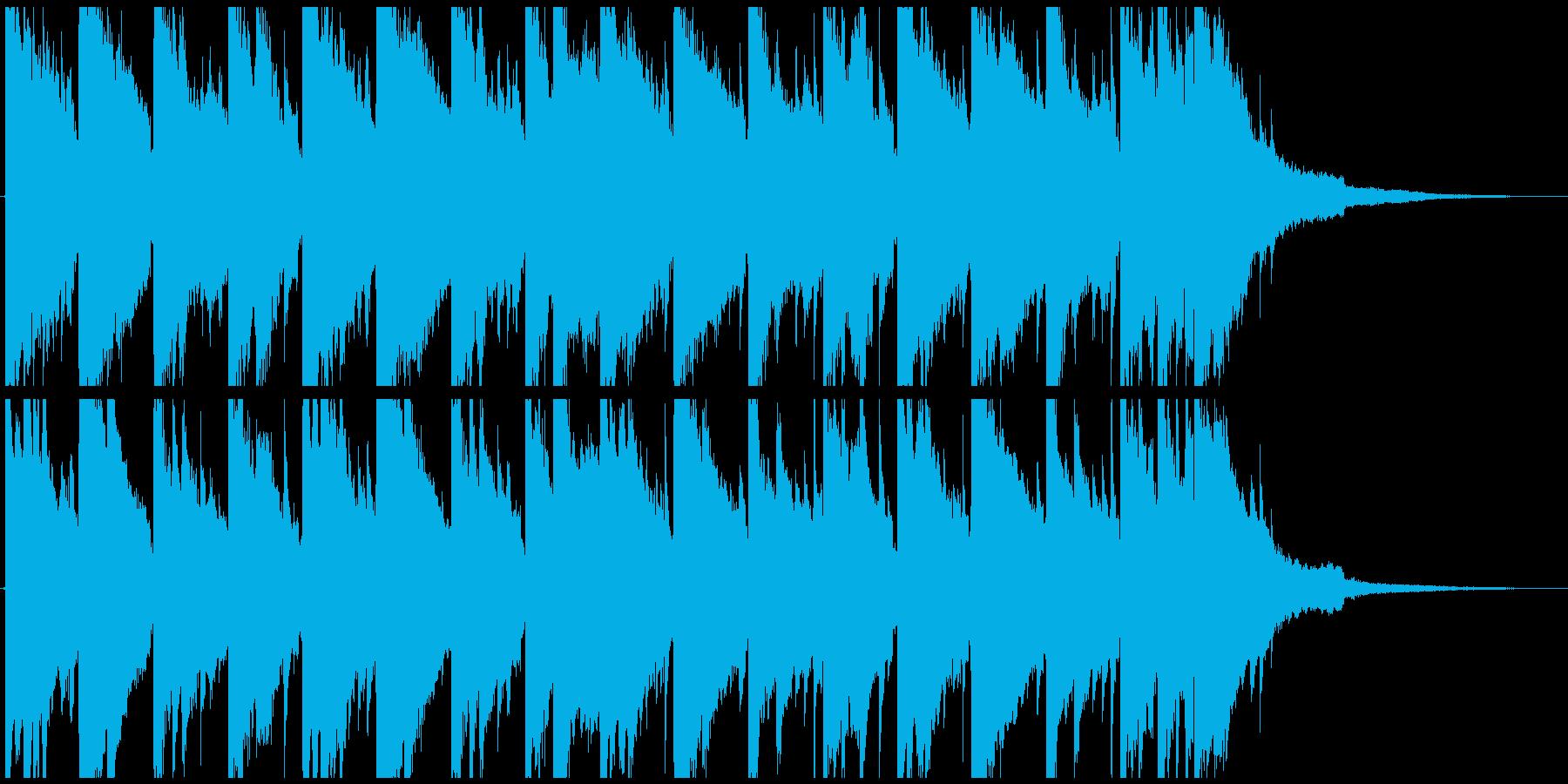 夏や海を連想させるヒーリングミュージックの再生済みの波形