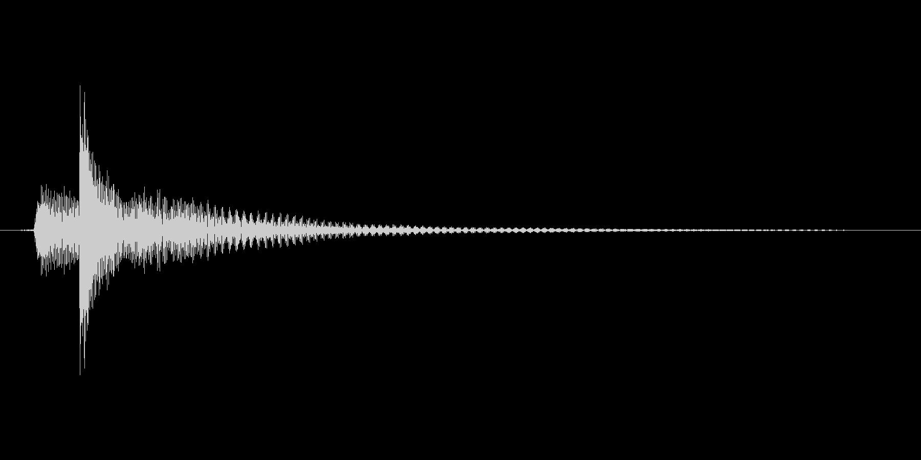 タップ.カーソル移動.クリック.決定05の未再生の波形