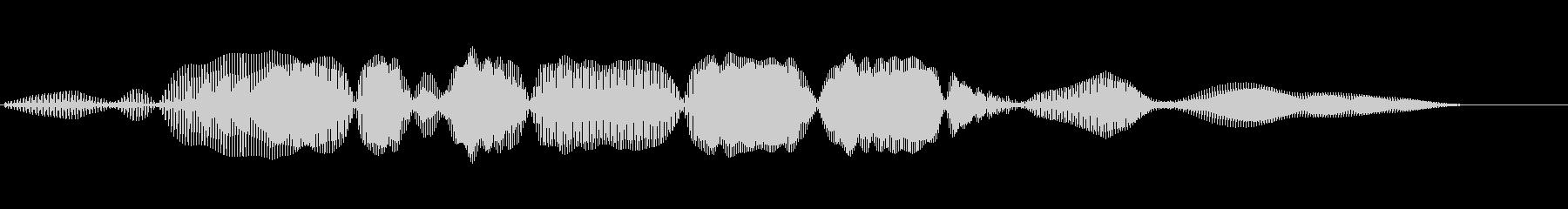 THEREMIN:ショートウェーブ...の未再生の波形
