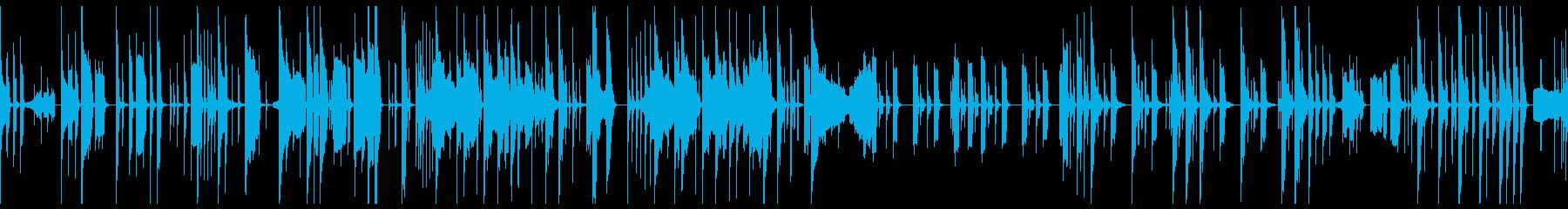 エレピを使った素朴でポップなBGMの再生済みの波形