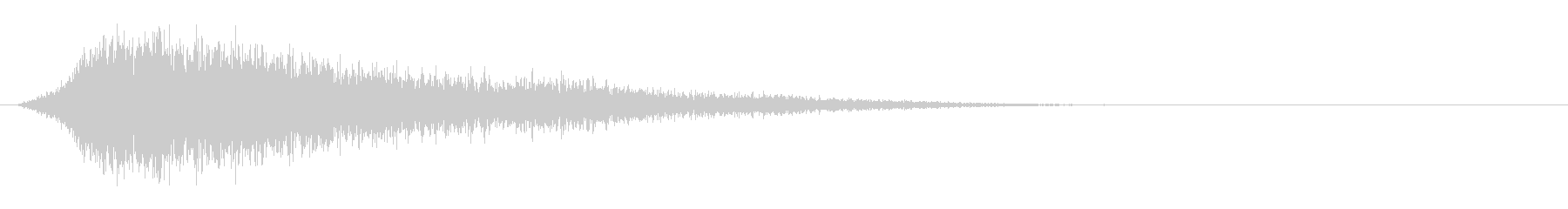 サスペンスピアノ音_16-1の未再生の波形