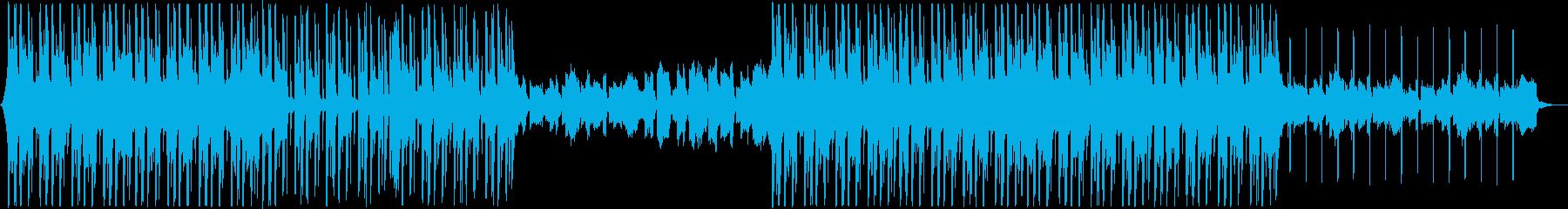 幻想的なR&B、オシャレ系chillBGの再生済みの波形