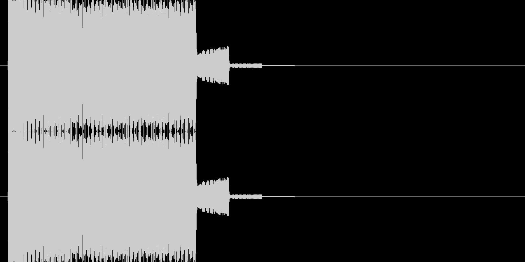 トュルルルルルルルル↑の未再生の波形