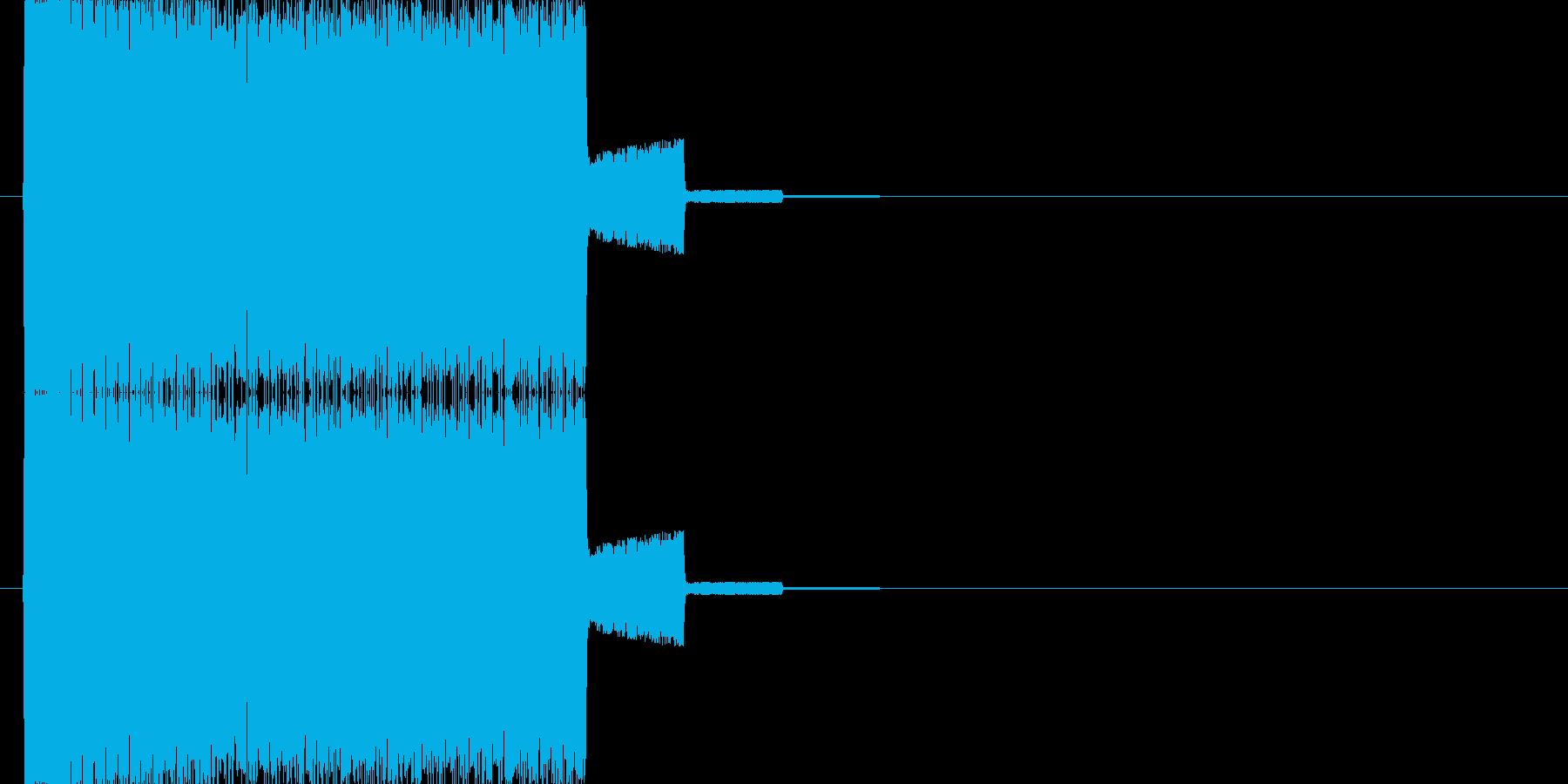 トュルルルルルルルル↑の再生済みの波形