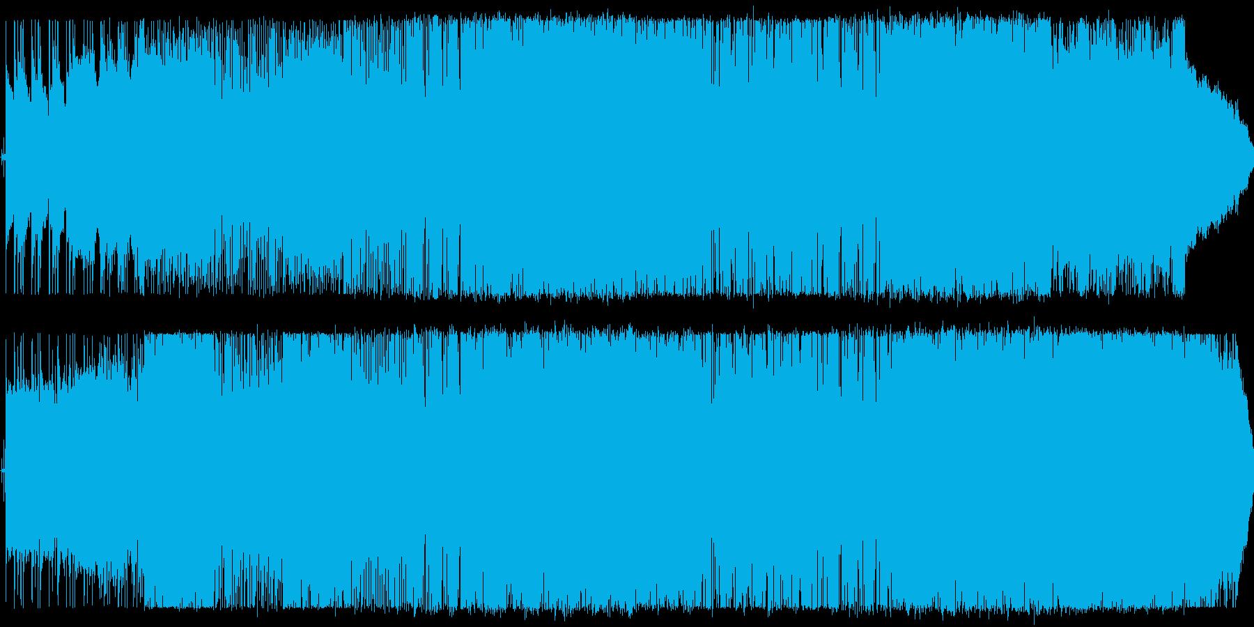 切ないピアノ、轟音のギターが特徴的な楽曲の再生済みの波形