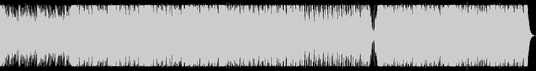 神秘で透明感のある和風インストの未再生の波形
