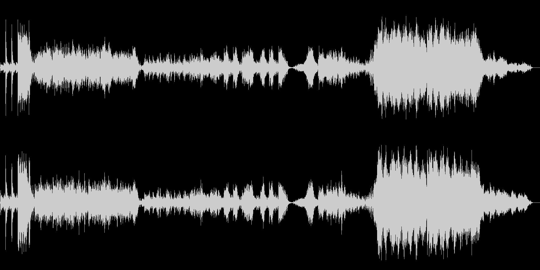 チャイコフスキー ピアノ協奏曲 第1番の未再生の波形