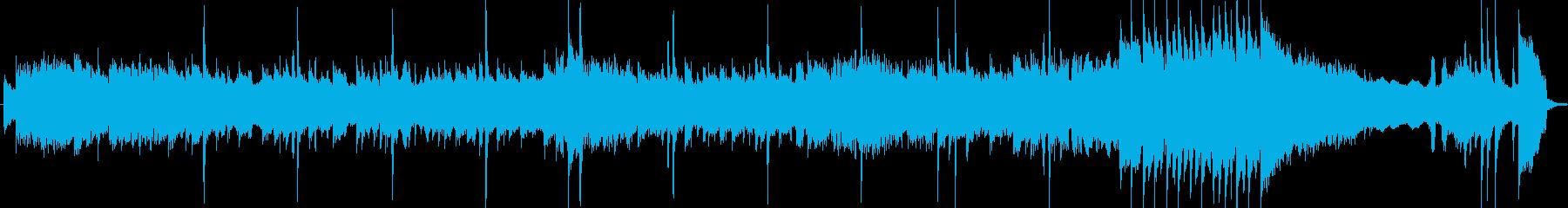 アコギとエレキの揺らぎがマッチする曲の再生済みの波形