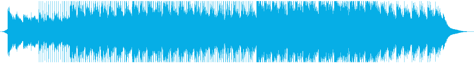 アンビエントミュージック 心に強く...の再生済みの波形