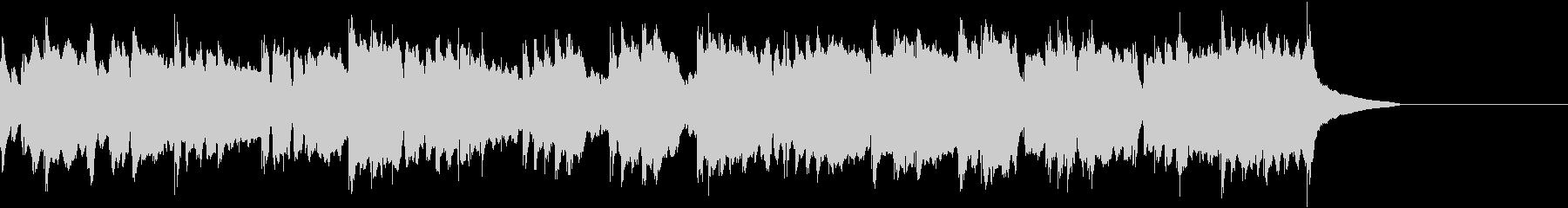 告知やCMなどに使える穏やかな曲の未再生の波形