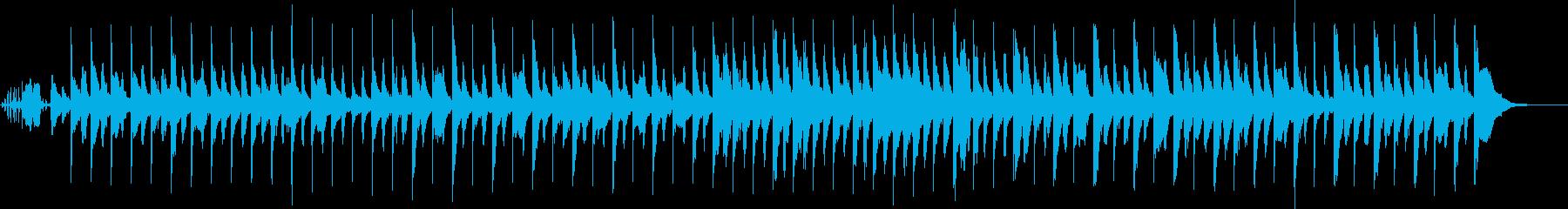 奇妙で軽快ハロウィン風ピアノ(SE有り)の再生済みの波形