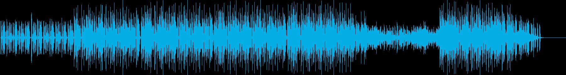 和やかで軽やかなギターチルホップの再生済みの波形