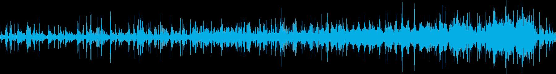 チルアウトミュージックの再生済みの波形