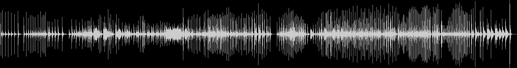 三味線148五条橋3幕三重激しいかっこいの未再生の波形