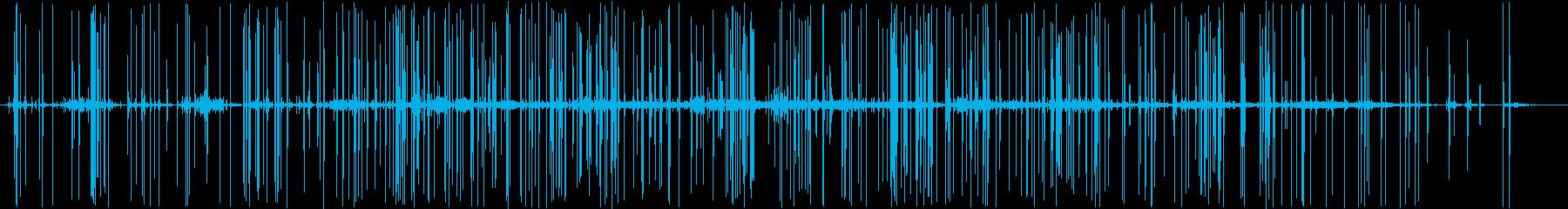 花火大会:ロングコンスタントフィナ...の再生済みの波形