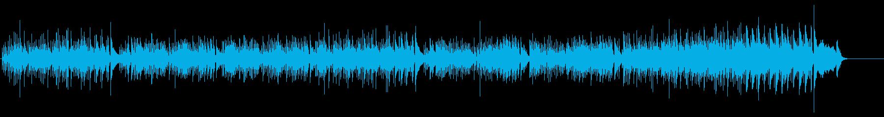 ライト感覚の微笑ましいポップ・チューンの再生済みの波形
