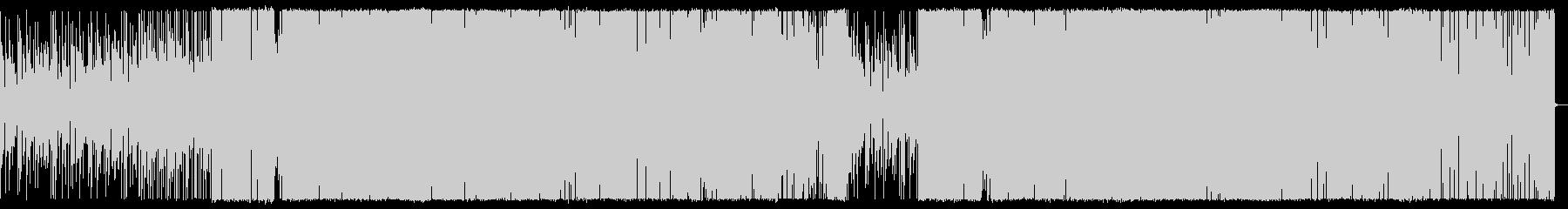 ハイセンスなDeep Houseの未再生の波形