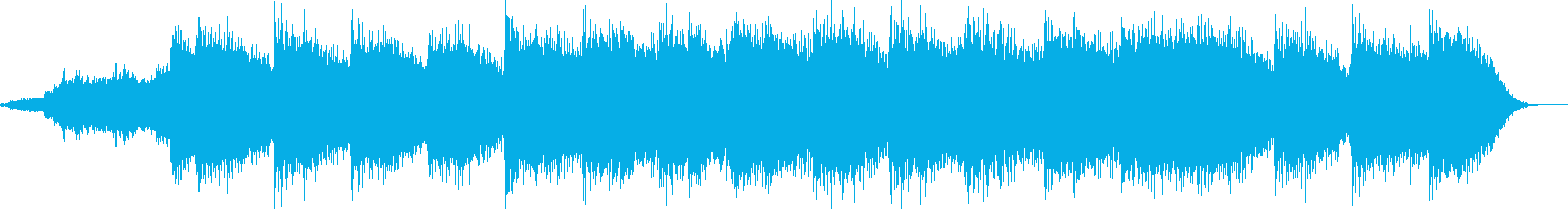 心の中のダークな本音を見透かすイメージの再生済みの波形