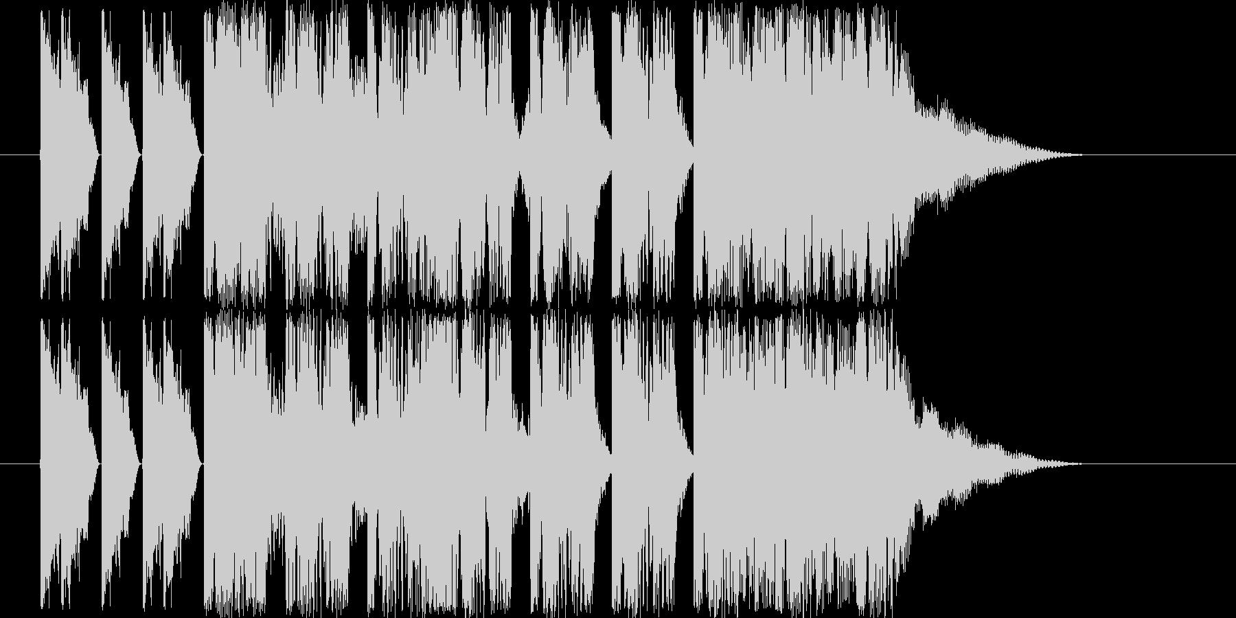 ダンサブルなエレクトロ(5〜7秒ジングルの未再生の波形