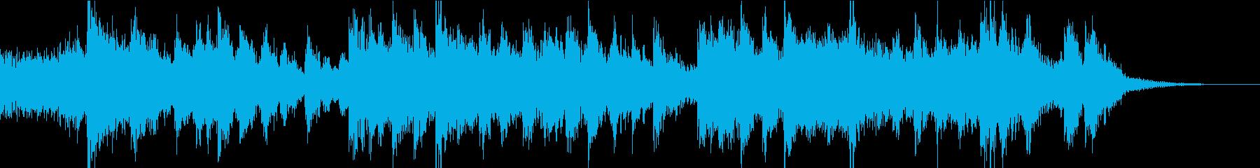 熱血系中華楽曲の再生済みの波形