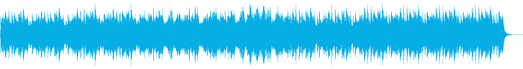 コーラスの入った爽やかでシンプルな曲の再生済みの波形