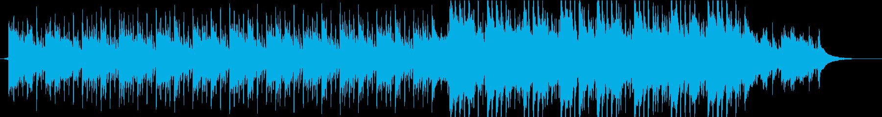 企業VP 透明感 アコギ 4つ打ちの再生済みの波形