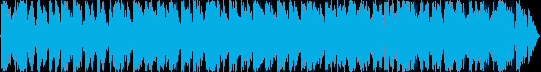 テクノダンス系の再生済みの波形
