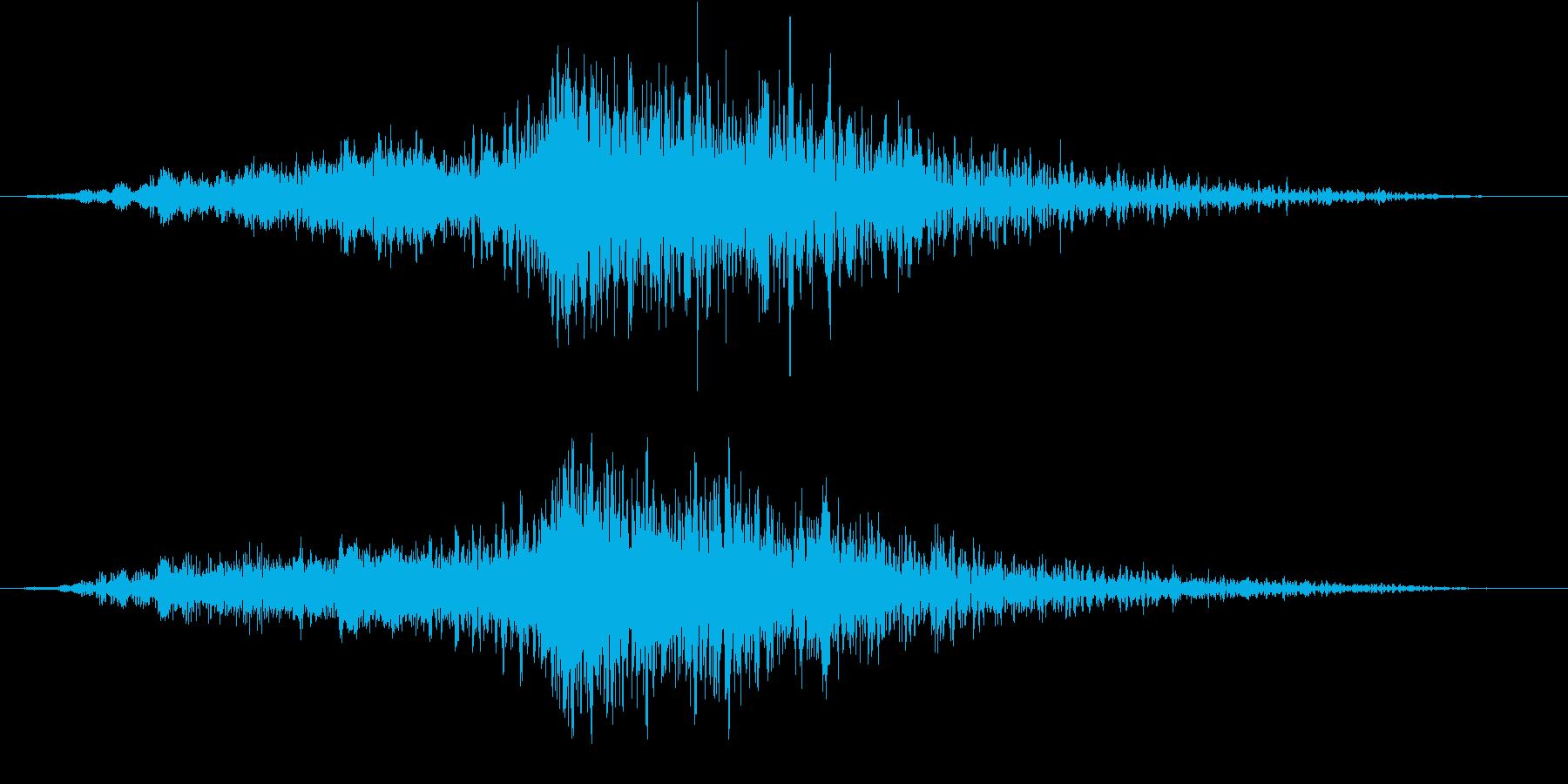【ライザー】15 ホラーサウンド 危険の再生済みの波形